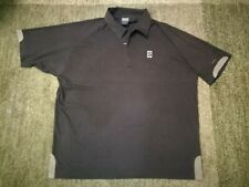 Nike vintage polo tennis shirt Andre Agassi Size L San Jose 2002