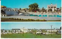 "Dover GA  ""The Holiday Motel  & Restaurant""  Postcard  Georgia"