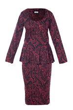 Kika - Women's Peplum Top And Skirt -Formal / Party / Wedding / Occasion