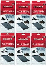 (6) ea AP & G # 402 CatchMaster 2 Pack Rat Mouse & Snake Glue Traps