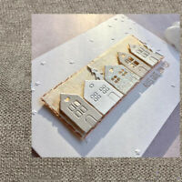 Metal Cutting Die Cut Dies house Building Decoration Scrapbook Paper Card Craft