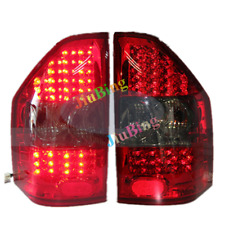 2Pcs For Mitsubishi Montero Pajero V73 2000-2008 Rear LED Tail Lamp Brake Light