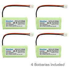 Kastar 4 Cordless Home Phone Battery for AT&T Lucent BT18433 BT28433 BT1011 3101
