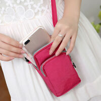Women Girls Cross Body Mobile Phone Shoulder Wrist Pouch Bag Coin Wallet Purse