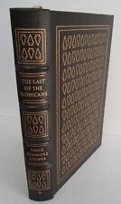 James Fenimore Cooper, THE LAST OF THE MOHICANS, Easton Press 1979, Illustrated