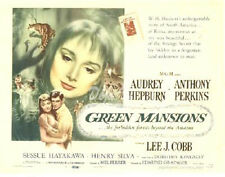 Green Mansions Lobby Card - Title Card - Audrey Hepburn - 1959  - VF