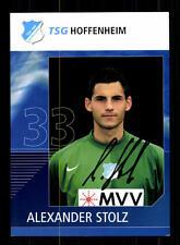 Alexander Stolz Autogrammkarte TSG Hoffenheim 2006-07 Original Sign+A 141245