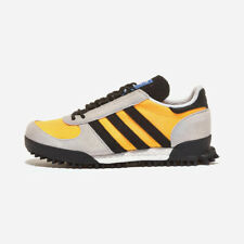 Adidas Marathon Trail - Yellow / FW9172 / Mens Running Shoes Sneakers Expedited