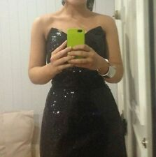 Sequin Ball Gown Dry-clean Only Solid Dresses for Women