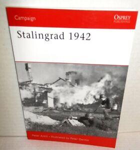 BOOK OSPREY Campaign #184 Stalingrad 1942 op 2007 Ed