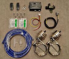 2x 76mm WIRELESS Exhaust muffler Controller Vacuum Valve FOR 4RUNNER LX470 GX470