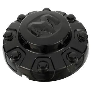 2020-2022 RAM 3500 BLACK WHEEL CENTER CAP REAR OEM NEW (1) MOPAR 6UV29DX8AA