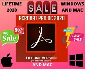 🔥  Adobe®Acrobat Pro DC 2020 Official Original Lifetime Pre-activated 🔥