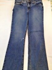 Vintage Aeropostale womens flare jeans, size jr. 5/6S, stretch, medium wash