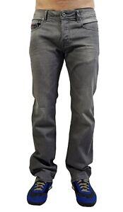 "Diesel "" Boot Cut "" Stretch Jeans Zatiny R39N8 Light Grey Washed"