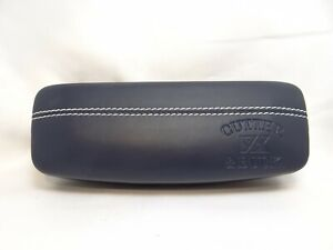 CUTTER & BUCK Hard Clamshell Case in Navy Blue For Glasses 37mm Authentic Unused