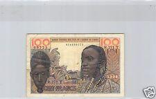 AFRIQUE DE L'OUEST - TOGO 100 FRANCS ND ALPHABET R.271 PICK 801T g RARE !!