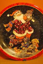 Großer Weihnachts-Teller