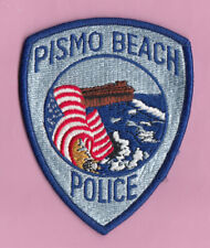 A36 * OLD PISMO BEACH CA POLICE LAW ENFORCEMENT GOVERNMENT PATCH