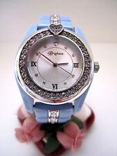"""Brighton """"DANA POINT"""" Blue/Crystal Watch (MSR$130) NWT/Tin"""