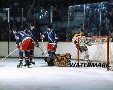 NHL 1971 Bobby Orr Boston Bruins vs New York Ranger Color 8 X 10 Photo Pic