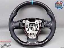 Chevrolet 2012-13 Corvette C6 Z06 Z1 Thick 8mm Blue Ring Carbon Steering Wheel