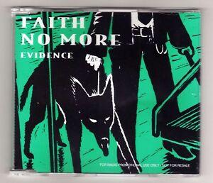 FAITH NO MORE  Promo Cd Single EVIDENCE 1 track 1995  /17