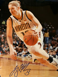 LINDSAY WHALEN signed University of Minnesota Basketball 8x10 photo #1  W/COA