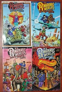 The Remarkable Worlds of Phineas B. Fuddle SET #1-4 NM/M 2000 Paradox Comic Book