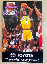 LOS ANGELES LAKERS 1994-95 BASKETBALL POCKET SCHEDULE