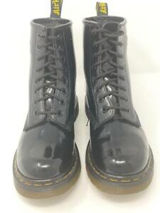 Dr Martens Black Patent Leather 1460 8-Eye Ankle Boots Size UK 4 EU 39 US 6