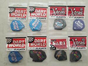 Bud Light Dart Flights 8 Sets of 3 Flights