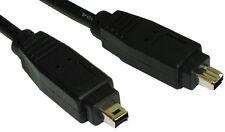 5M, Firewire IEEE 1394 de 4 Pines a 4 pines Cable de PC de alta velocidad-Plomo de videocámara DV