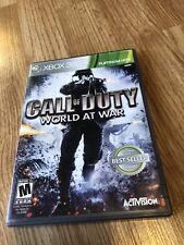 Call of Duty: World at War (Microsoft Xbox 360, 2008) VC9