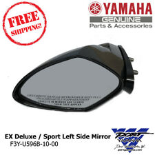 2017-19 Yamaha EX Deluxe EX Sport WaveRunner Left Hand Mirror - F3Y-U596B-10-00