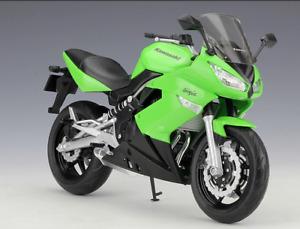 Welly 1:10 Kawasaki Ninja 650R Diecast Motorcycle Bike Model Toy New In Box