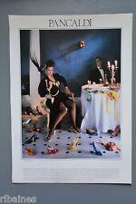R&L Ex-Mag Advert: Pancaldi Shoes, Retro 1980 Fashion, Johnny Boylan