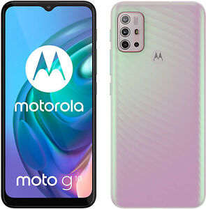 "New Motorola Moto G10 Sakura Pearl 6.5"" 64GB Dual SIM Android 11 Unlocked Sim Fr"