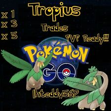 Pokemon go Tropius!  PVP Trade! Great League (Below 1500 CP) Regional! 100% SAFE
