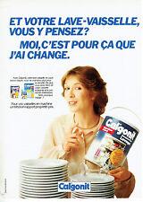 Publicité Advertising 097  1982   Calgonit  formule plus lave vaisselle
