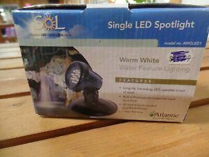 Atlantic Water Gardening warm white LED spotlight