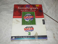 Ultimate Soccer Manager 2 Sierra Big Box PC Sealed Ultra Rare!