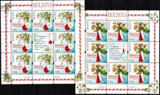 MOLDOVA 2016-03 Martisor, Holiday of Spring. Folklore. Flowers. MINI-SHEETS, MNH