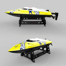 20KM/H High Speed RC Boat Remote Control Racing Speedboat Ship Model Kids Toys