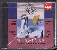 MESSIAEN CD NEW QUATUOR POUR LA FIN DU TEMPS/ YVONNE LORIOD/ CHERUBINI QUARTET