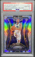 Stephen Curry 2019-20 Panini Select Select Company Silver GEM MINT PSA 10 POP 6
