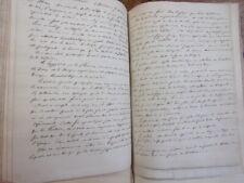 Comte de Clairac. Traité de sculptures Antiques + manuscrit et dessins ( rare )