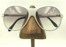 Vintage G Silver Metal Oversized Oval Sunglasses Eyeglasses Frames Hungary