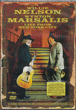 WILLIE NELSON & WYNTON MARSALIS Live from New York City   DVD Neuware