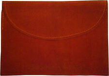 Cartier Red Suede International Service Pouch Watch Jewellery